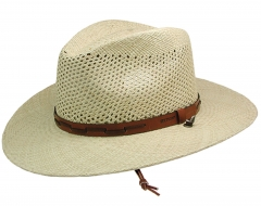 Stetson Airway Straw Hat ARWY beige