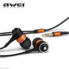 Bass Headset Stereo Headphone Earphone Earbud For iPhone Samsung In-ear 3.5mm black