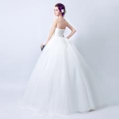 2017 new white butterfly flower fashion wedding wedding dress white s