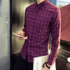 Business Slim casual jacket men trend tide tide red m