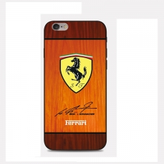 Mobile Phone Case For Infinix hot 4 x557 /Hot 4 lite Tempered Glass Screen Protector Ferrari one size