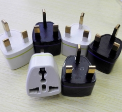 UK KE Standard 3-foot Plug Power Adapter Converter Plug 1pc Random Color