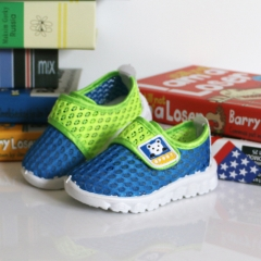 Mesh Breathable Shoes Kid's Running Shoes Sport Shoes for Baby\child blue 21