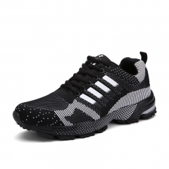 Sneakers Lace Up Deportivas Hombre Casual Shoes Air Men Basket Femme Lovers Sport Casual Shoes 01 men black 37