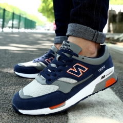 Lace Up Sports Recreational Shoes Breathable Shoes Korean Style Sneakers for Men/Women Dark Blue 39