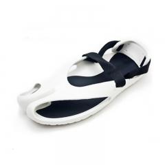 Summer Male Garden Sandal Shoes Men Leisure Mix Colors Trendy Flip Flops Beach Sandals White 6.5