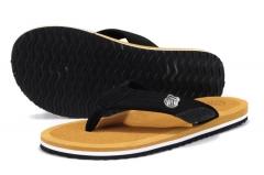 Men Big Size Sandals Summer Flip Flops Slippers Fashion with Slip-resistant Flip Flops Shoes Yellow 39