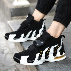 Autumn winter increased male shoes sport casual shoes air cushion male Korea style tide lovers White 35