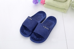 Cool couples home anti-skid bathroom slippers slippers summer summer slippers for men and women navy 36