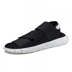 Summer Couples Y3 Sandals Tides Shoes Youth Breathable Flat Roman Shoes for  Men and Women White 37