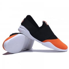 Slip-Ons Higher Shoes Men's Casual Shoes Breathable Canvas Sneakers Shoes for Men orange 39