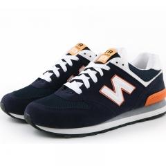 Fashion Men's Shoes  Sport Sandals Net Surface Loafers Youth Korean Style Men's Shoes Orange 39