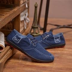 2016 breathable classic denim canvas shoes fashion leisure students fashion sandals blue 39