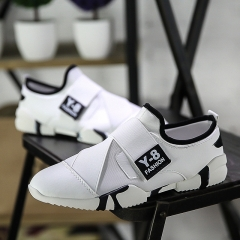 Breathable shoes sneakers men sneakers leisure lovers shoes white 39