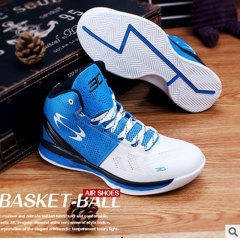 NBA Champion Shoes Basketball Training Shoes SC30 Second Generation Sport Sneakers blue 39
