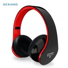 Xiang GB-8818 Bluetooth Headset 4 Bass Wireless Phone Call Music Mobile Phone Universal Folding black one size