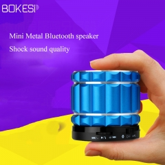 Bokesi S19 Bluetooth Speakers Bass With  Subwoofer And  FM Radio And TF Card black one size