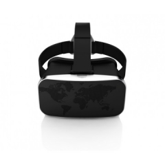 """Universal Mobile Phone Version Virtual Reality 3D Video Movies Game Glasses For 4.7""""-6.5'' Phone black onesize"""