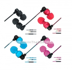 Unique Appearance Earphones (YKON MK-1) Multicolor