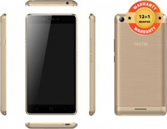 TECNO L8 Lite Smartphone - 16GB - 1GB RAM - 8MP Camera - Dual SIM gold