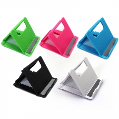 Universal Adjustable Foldable Cell Phone Tablet Desk Stand Holder Smartphone Mobile Phone Bracket white 7.1*8.3*1.1CM