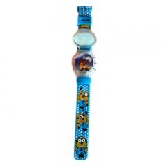 Totos Stuff LED Light Kids' Watch TS048 - Blue