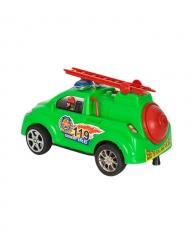Plastic Kids' Ladder Toy Car- Green