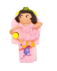 Plastic Kids Doll Watch Pink