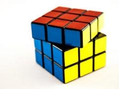 Magic Rubic Cube MULTI COLOURED one size