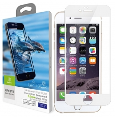 iPhone 7 Screen Protector, 3D Glass,Full Coverage 9H Hardness,Tempered Screen Protector white one size