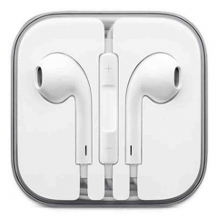In-Ear Headphone Earphones Earpods with Mic&Volume Control For INFINIX DOOGEE CUBOT Huawei iPhone White