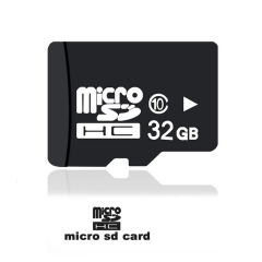 Micro SDHC Flash Memory Card TF Card Storage Card Class 10 Microsd for Smartphone/Tablet/DVR/Speaker Waterproof High Speed 32GB