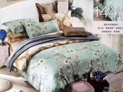 4PCS Cotton Quilt Bedding Sets Flowers multicolor 200cm*230cm
