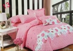 4pcs Cotton Quilt Bedding Sets roses multicolour 200cm*230cm