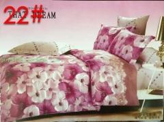 4pcs cotton quilt bedding sets bloom multicolour 200cm*230cm