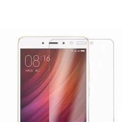 2.5D 9H Premium Tempered Glass For Xiaomi Redmi Note 4 5.5 Crystal 5.6*5.6cm