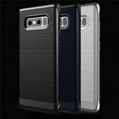 For Samsung Note 8 Hard Shell TPU Hybrid Protective Back Cover Cases For Samsung Note8 Phone Shell Blue for Samsung Note 8