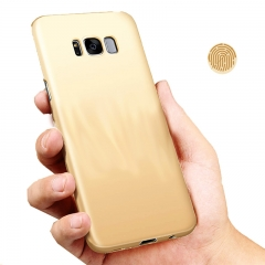 Heat Dissipation Phone Case For Samsung S8 S8 plus Full Cover Case S7 S7 Edge Protect Shell Gold-S8 for Samsung
