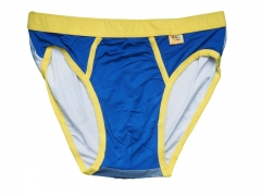 Mens swimming Briefs 4XL Blue