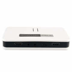 1080P HD Video Capture HDMI/YPbPr Game Capture Recorder Box+Video Edit Softeware 220V