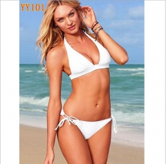 2016 NEW FASHION Hot Sexy Swimwear bikinis split White One size