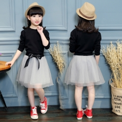 Children Kids Dress Girls Princess Skirt  Dress as the picture 110cm