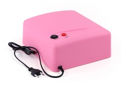 36W UV Nail Art Lamp Gel  Light Dryer 220V Gel Nail Dry Machine pink one size