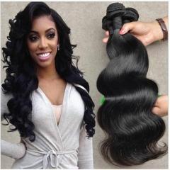 New arrival Brazilian 3 piece body wave human hair 100g/pc remy hair 1b 8 8 8inch