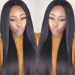 grade 7a peruvian hair straight 2pcs virgin human hair weaves bundles deal free shipping 1b 6 6inch