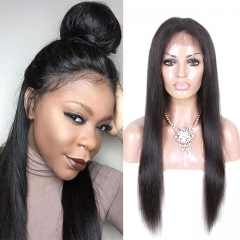 new trends peruvian hair closure straight human hair top quality 360 lace frontals 1b 10inch