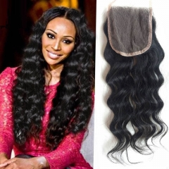 peruvian human hair lace closures cheap hair piece peruvian virgin hair natural wave hair closures 1b 8inch