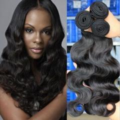 cheap human hair weave brazilian remy hair bundles body wave hair 3 bundles deal 1b 8 8 8inch