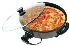 Electric multipurpose non-stick frying pan