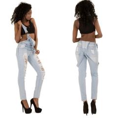women fashion Cowboy trousers pants blue s